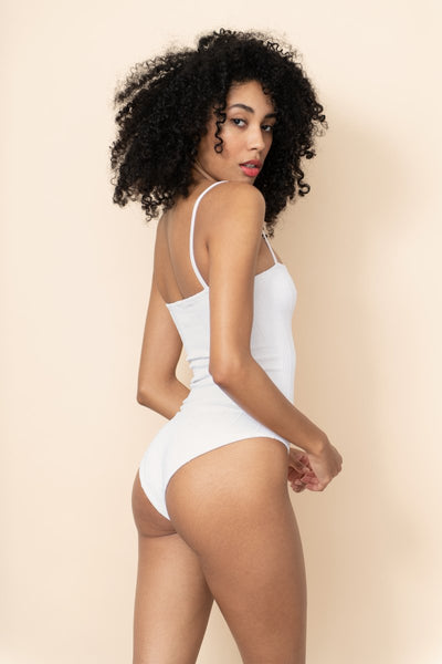 Hunza G - Maria Nile Swimsuit - White