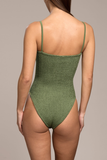 Hunza G - Maria One Piece - Metalic Moss