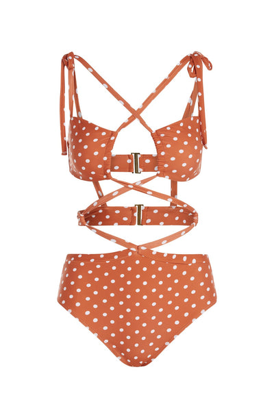 For Love & Lemons - Mariposa One Piece - Polka