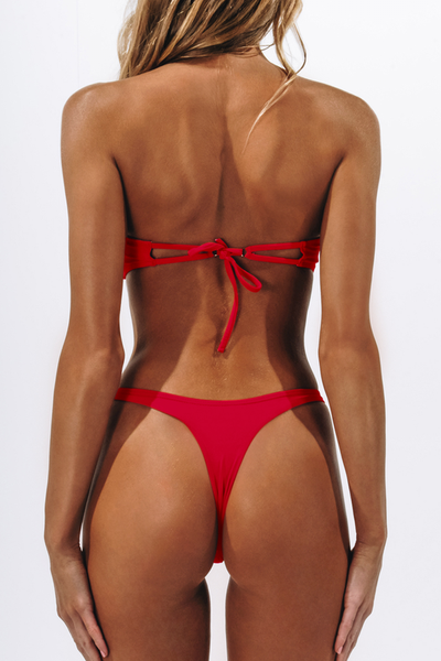 ALT Swim - Maye & Gia Bikini Set - Fire Red