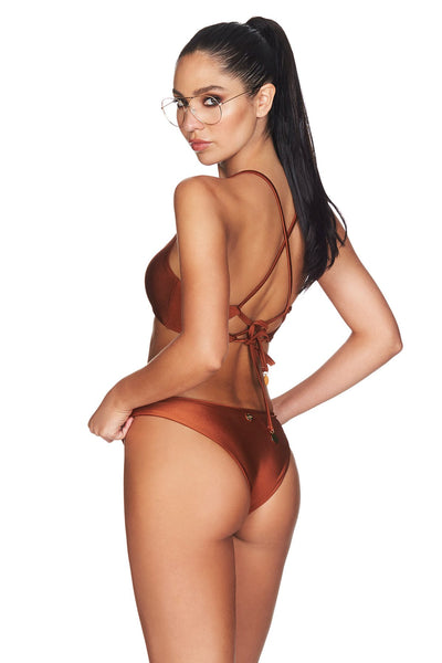 Nookie - Oasis Bikini Set - Rust