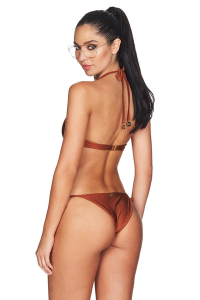 Nookie - Oasis Tie Bikini Set - Rust