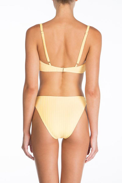 Peony - Piped Crop & Hi Line Set - Banana