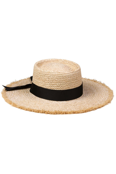 Lack of Color - Raffia Ventura Boater