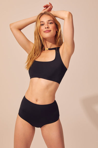 Solid & Striped - Scout Bikini Set - Black