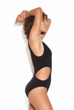 Seafolly - One Shoulder Maillot - Black