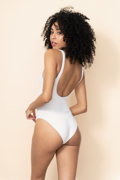 Hunza G - Solitaire Nile One Piece - White