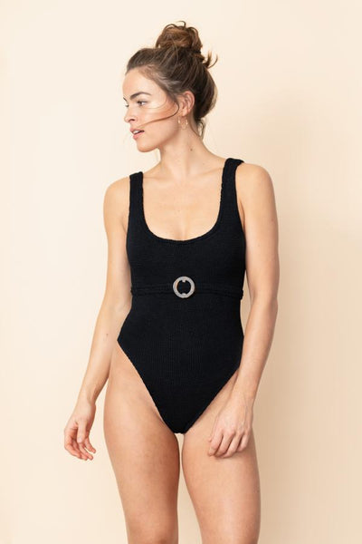 Hunza G - Solitaire Swimsuit - Black