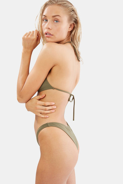 Solid & Striped - The Sadie Bikini - Olive