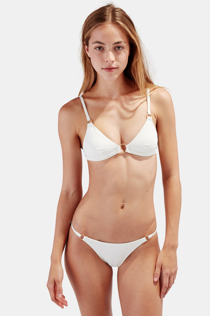 Solid & Striped - The Tilda Set - Cream