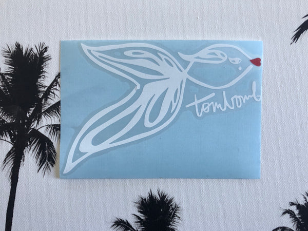 FIGHTING FISH DECAL