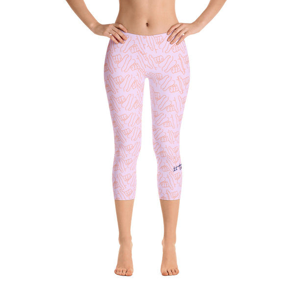 HANG LOOSE LEGGINGS - DREAMSCICLE