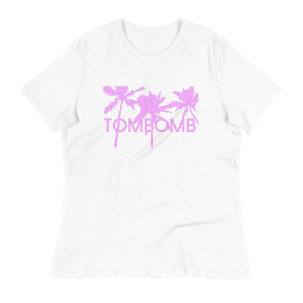 PALMS TEE - ORCHID