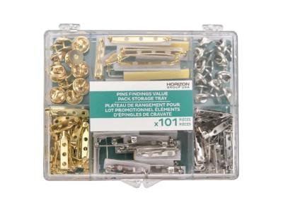 Pins Finding Value Pack Storage Tray (101Ct)