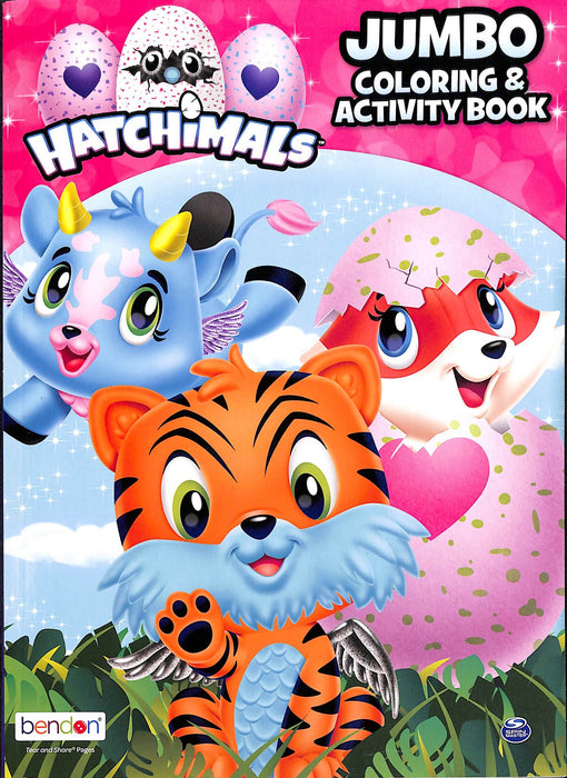 COLORING & ACTIVITY BK HATCHIMALS