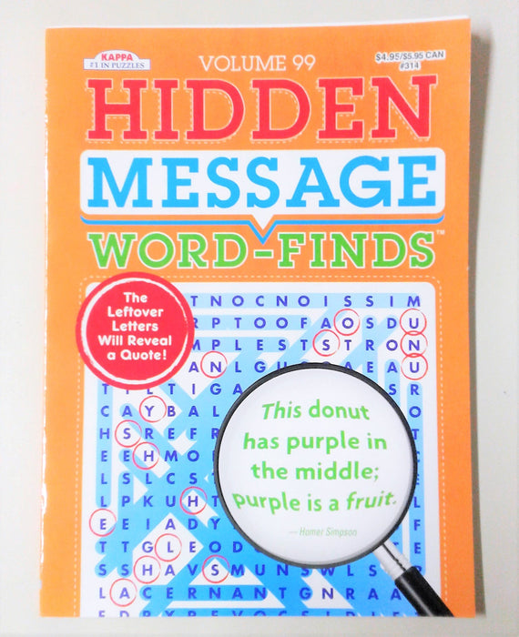 Hidden Message Word Find Vol 19- Kappa