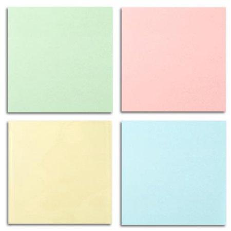 ASSORTED PASTEL STICKY NOTES (4CT)