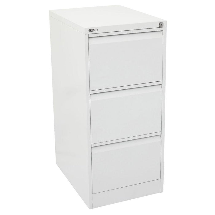 Filing Cabinet 3 Draw Lgl Putty- Continental