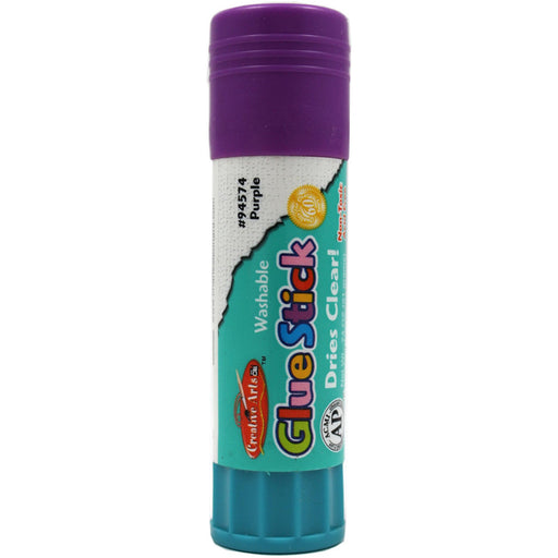 GLUE STICK .74 OZ PURPLE LEO 94574