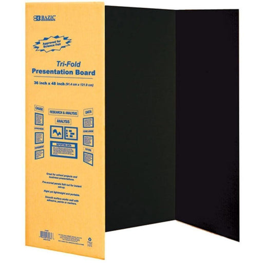 DISPLAY BOARD BLACK 36X48 #5034