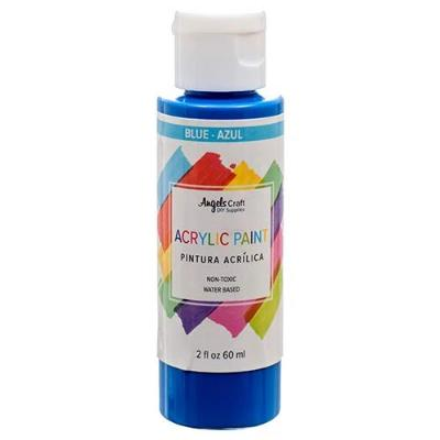 ANGEL CRAFT BLUE ACRYLIC PAINT 2oz