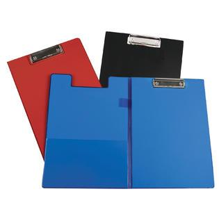 CLIPBOARD WITH FOLDER ASSORTED 8.5x11