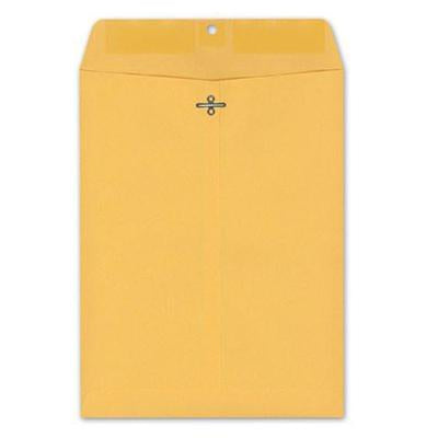 Clasp Envelopes 9X12 Redstar 100Ct