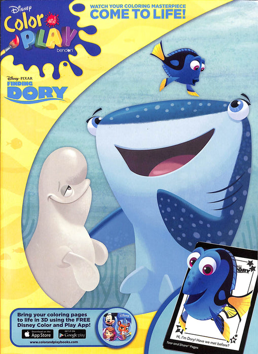 Coloring Book Finding Dory 39413