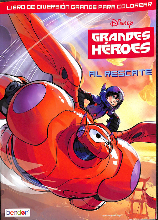 Coloring Book Disney Big Hero 6 55327