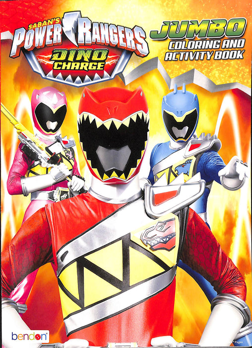 COLORING & ACTIVITY BK POWER RANGERS