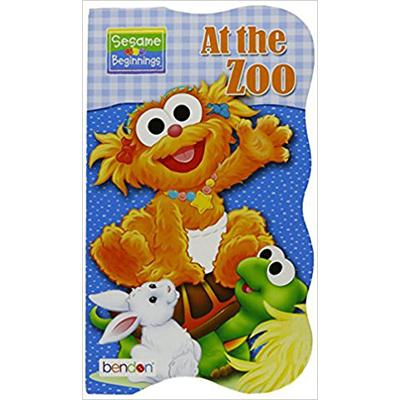 Die Cut Board Book Sesame Street