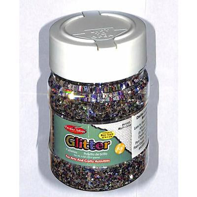 Glitter Multi-Color 4Oz Jar Cli-41400
