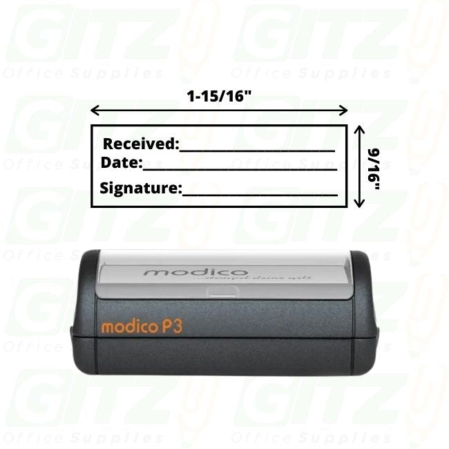 P3 Self Inking Stamp