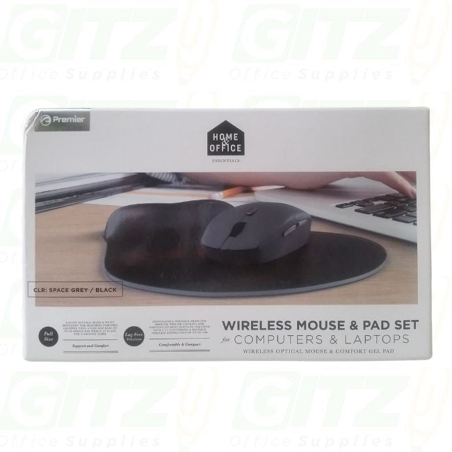 WIRELESS MOUSE PAD SET FOR COMPUTER & LAPTOP
