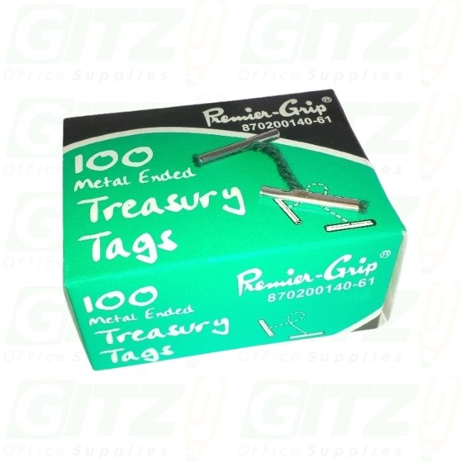 Treasury Tags Plastic 102Mm(100)