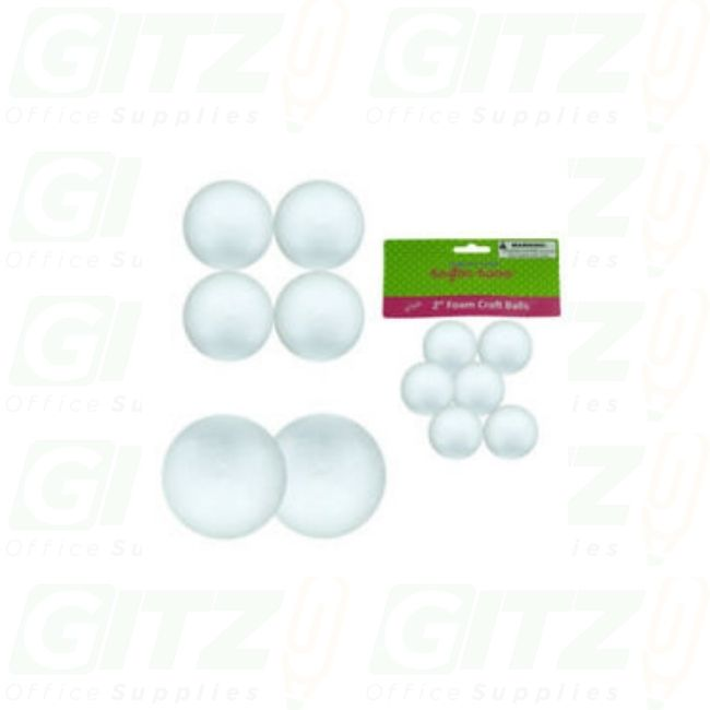 "Foam Ball 2""-6Pc"