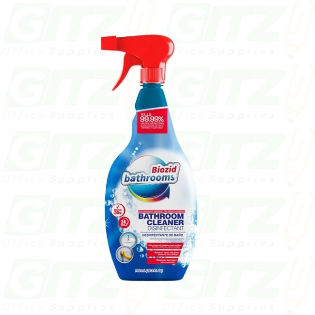 BIOZID BATHROOM CLEANER DISINFECTANT 750ml