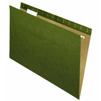 Hanging Folder Letter Size 21/5 Green (25) 37215