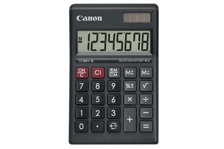 CALCULATOR DESKTOP DISPLAY LS88 HIII