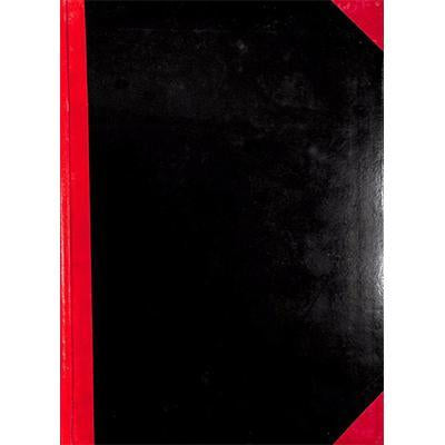 Notebook Red/Black A4 100Pg 8X11.5 #1110