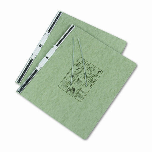 DATA BINDER GREEN 14-7/8X11