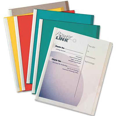 Report Covers With Spine 50Ct Assorted- Cli