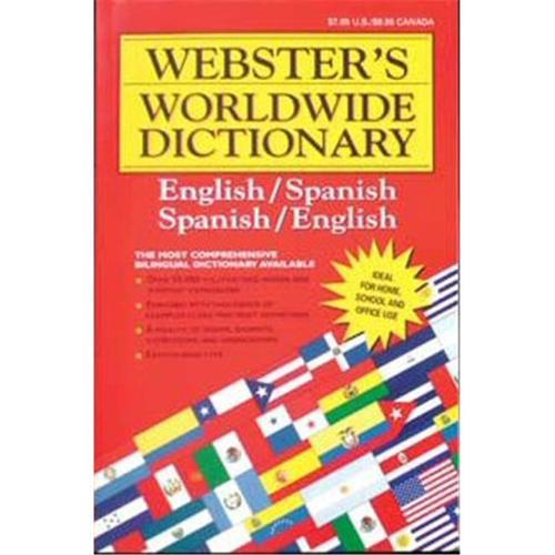 Dictionary- Webster Eng Span Sml