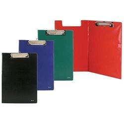 FOLDER A4 -POLY W/LOW PROFILE CLIP #1828