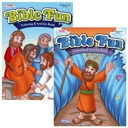 COLORING BOOK BIBLE FUN COLORING & ACTIVITY BOOK 47100