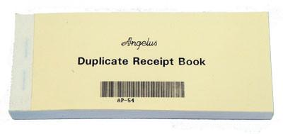 Receipt Book Duplicate