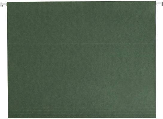 Red Star Hanging File Folder, No Tabs, Legal Size, Standard Green, 25 Per Box