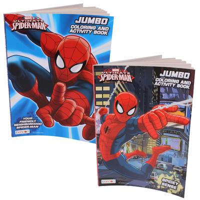 Ultimate Spiderman Jumbo Coloring & Activity Book #22997