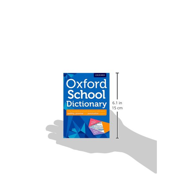 Oxford School Dictionary - Paperback