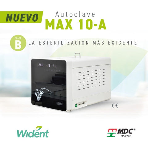 Autoclave MAX 10-A CLASE B WIDENT